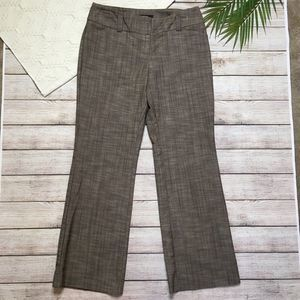 3/$20 Apt 9 Brown Ava Dress Slacks Pants 6 Petite